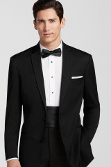 Classic-style-Mens-Modern-Fit-Suit-Single-Breasted-Center-Vent-Notch-Lapel-Groom-Tuxedos-3-Piece