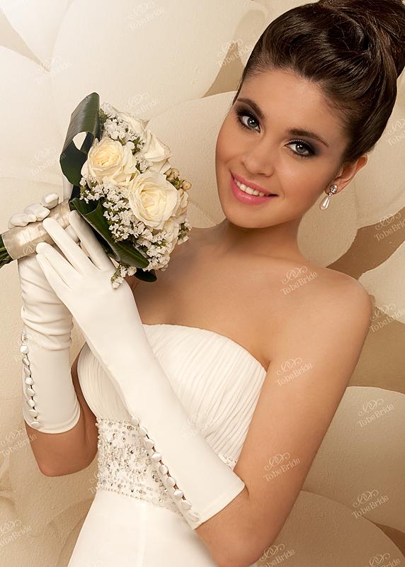 Перчатки к свадебному платью TobeBride