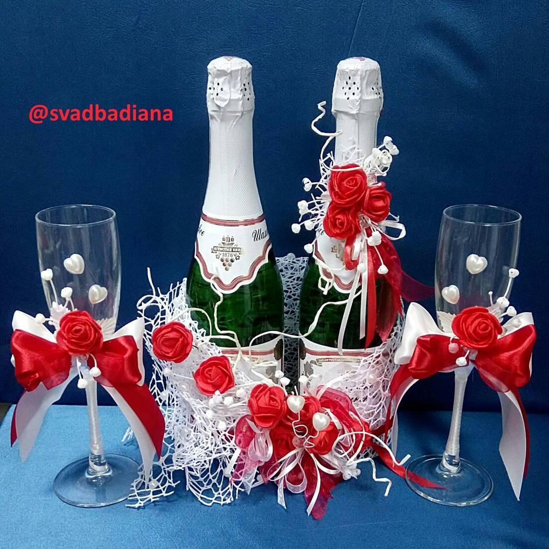 Украшения на шампанское5